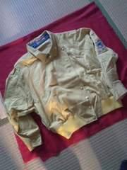 ジャケット薄い暗いレモン色カジュアルデザイン