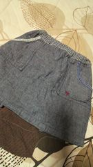 RAGMARTラグマートエプロン風スカート100美品