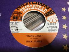 Rick James / Mary Jane 7インチ
