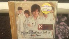 ��ڱ!��SexyZone/king&Queen&Joker�������K/CD+DVD+�߽���V�i
