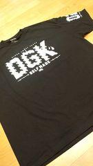 LA直輸入!DGK 黒ブラック サイズ4XLXXXXL skate border