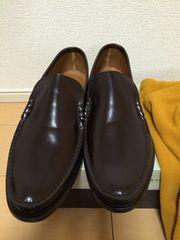 ビームス購入、フローシャイムデッキシューズ茶靴BEAMS