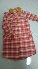 (120)RAGMARTラグマートのシャツワンピース
