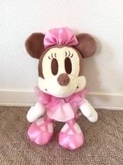 ディズニー ミニーマウス ピンクドレスぬいぐるみ 23cm