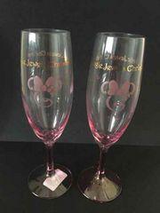 disney ディズニー ミニーマウス シャンパンペアグラス 食器