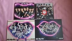 Kis-My-Ft2��Kiss����CD�̂݁{CD&DVD�~3�̌v4�Z�b�g����ϲ