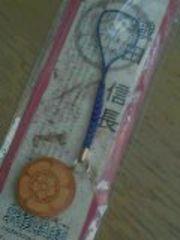 ◆ 戦国武将 ◆ 京竹ストラップ ◆ 織田信長 ◆ 木瓜 ◆