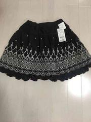 新品  組曲キッズ刺繍スカート定価14700円