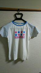 ▲150�p▲半袖Tシャツ▲星▲白▲
