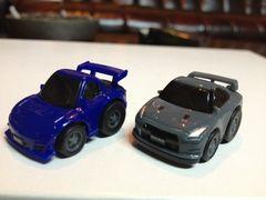 ミニチョロQチューンドカーシリーズRX-7 GT-R2台