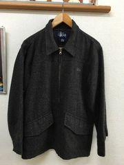 stuusyステューシーのウールジャケット美品