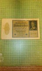 ドイツ10000札