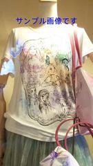 人気 ディズニー TDS 15周年 パステル ミッキー & プリンセス Tシャツ M