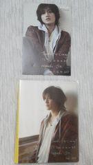 未開封品美品赤西仁 公式フォトアルバム+ポストカード セット貴重