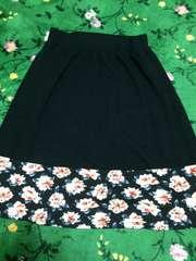 新品:ニットフレアースカート