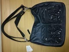 新品未使用 ショルダーハンドバッグ2way スパンコールデザイン鞄