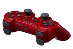 即決 PS3 純正ワイヤレスコントローラ DUALSHOCK3 ディープレッド 送料無料