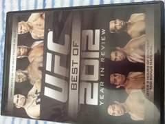最新/UFC Best of 2012 DVD/総合格闘技キックボクシングムエタイ柔術