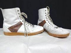 アヴィレックス/AVIREX/ハイカットレザースニーカー/ブーツ/25cm