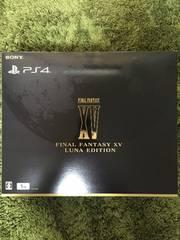 PlayStation4 FINALFANTASY15 LUNA EDITION 新品未開封