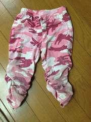 anap☆kids☆ピンク迷彩柄レギンス