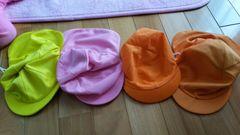 日よけつき帽子セット