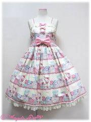 Angelic Pretty fancy box ジャンパースカート 他 アイボリー