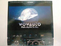 WOWAUTO 1DIN 7インチ インダッシュモニター ナビ/TV/USB/CD/DVD/SDカード 60Wx4