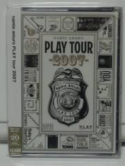 安室奈美恵 PLAY TOUR 2007 未開封DVD 期間限定版