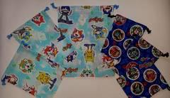 福袋 ◆ 52K 巾着 6枚set (^o^) ハンドメイド