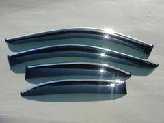 BMW E39 メッキモール入りドアバイザー セダン