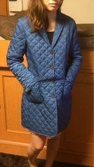 Paul Stuartポールスチュアートキルティングコート美品