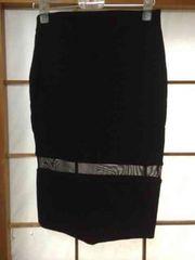 ZARA  ザラ  オシャレシースルータイトスカート  美品