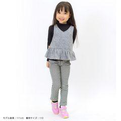 新作★着心地満点楽ちんアンサンブルTシャツ★グレー130cm