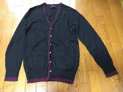 【RAGEBLUE】黒×紫カーディガン