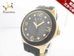 マークジェイコブス 腕時計 美品 MBM2540 ボーイズ 黒