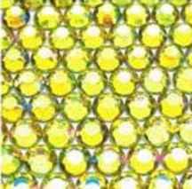 ● 3mm ● デコ用ストーン  2000粒 ライトイエロー