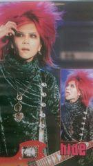 X JAPAN hide ポスター ヒデ DAHLIA  TOUR  1995