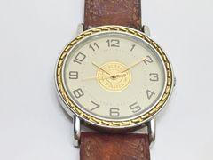 ☆HERMES☆エルメス セリエ メンズコンビ 腕時計