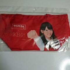 AKB48 x WONDA オリジナルミニトートバッグ 新品未開封 柏木 由紀