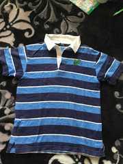 130センチ半袖ボーダーラガーシャツ!