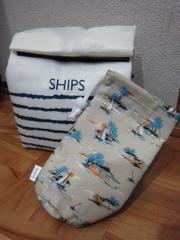 シップスランチバッグ&ペットボトルホルダー送料120円