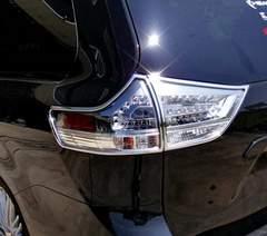 トヨタ メッキテールライトリング シエナ テールランプ リム