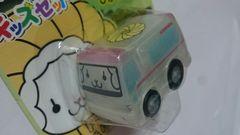 mister Donutミスドキッズセット スケルトンひかるチョロQ フレンチウーラー救急車 新品