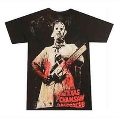 悪魔のいけにえ レザーフェイス Tシャツ テキサスチェーンソー