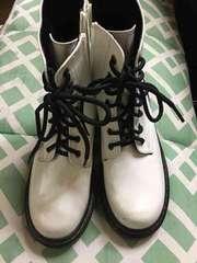 白ブーツ未使用
