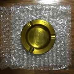 定形外込。アメリカンスピリットノベルティ・ゴールドカラー灰皿