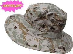ミリタリー サファリー ハット 帽子 Hat Como ベージュ M668
