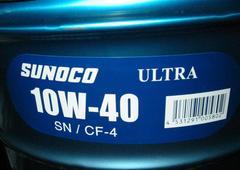 �� SUNOCO �i�X�m�R�j ULTRA. 10W-40. API-SN/CF-4. 20L�ł��B