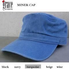 grace グレース MINER CAP ビンテージ ワークキャップ 帽子